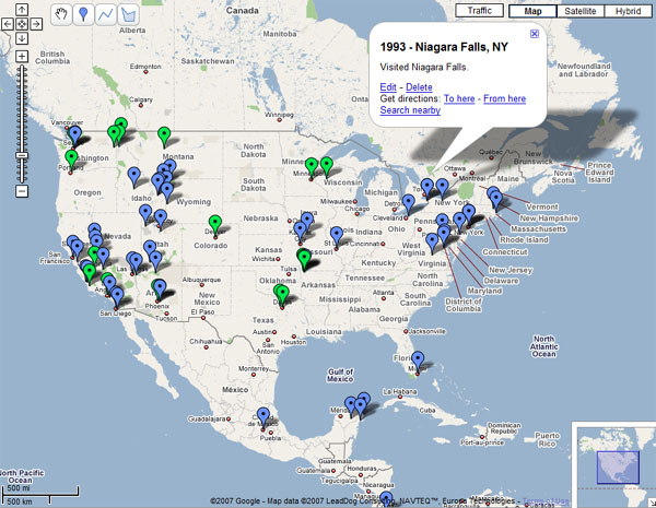 map visited create places ve vacations history setting visual start